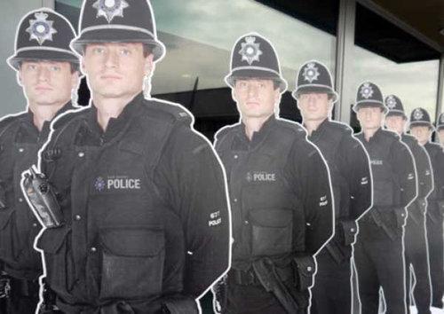 警察の看板01