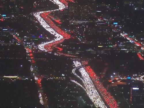 ロサンゼルスの渋滞03
