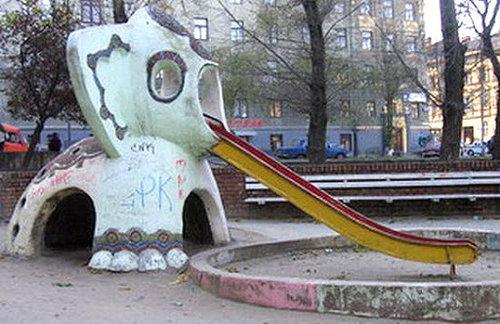 ロシアの遊具23
