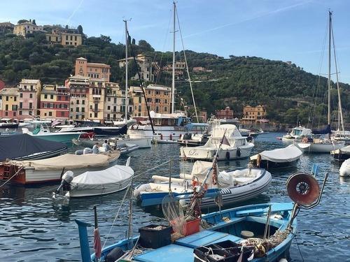 イタリアの美しい漁村、ポルトフィーノ00