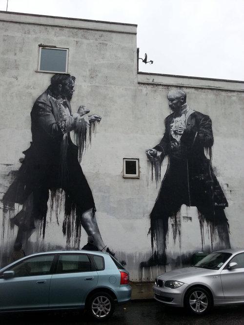 ロンドンのストリートアート01