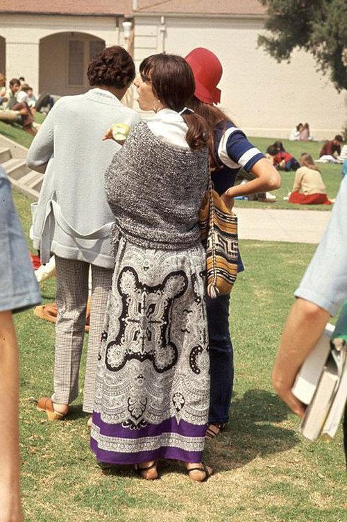 40年前のアメリカの女子高生ファッション06