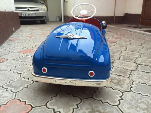 ソ連時代の子ども用のペダル車をレストア10
