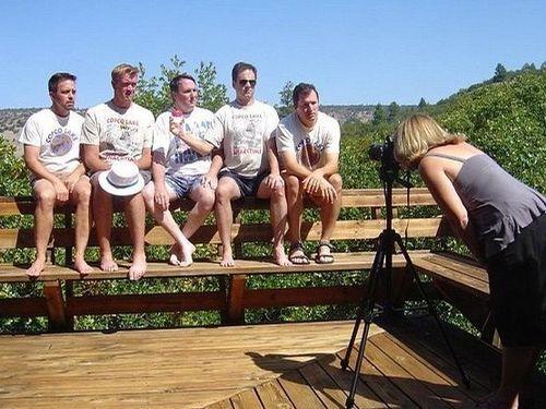 5人組が5年ごとに30年同じ写真08