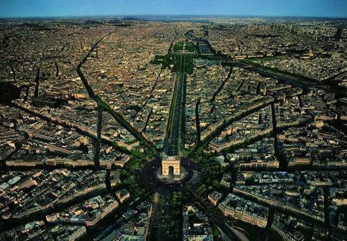 上空から見た都市04