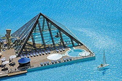 ギネス記録の世界最大のリゾートプールの大きさ06