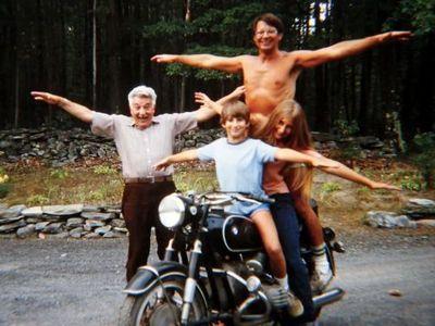 父さんのバイク