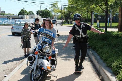 親しみが持てる警察官33
