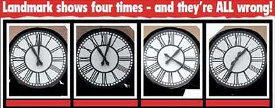 イギリスの時計02