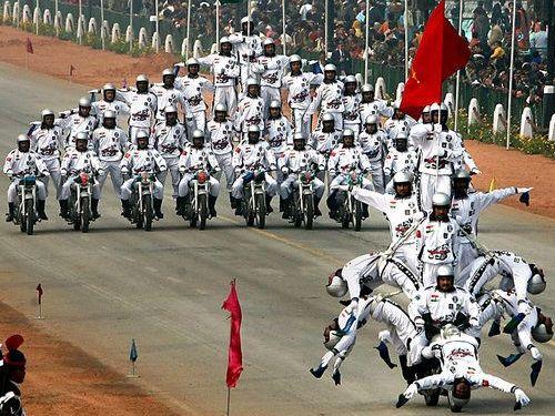 インドの軍事パレード04