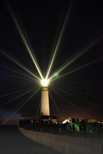 世界の灯台-ピジョン・ポイント灯台(米国