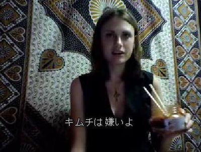 アメリカ人女性の「キムチ侮辱映像」