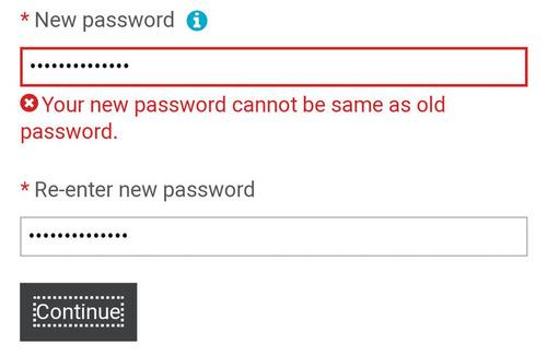 パスワードが思い出せないので新しく設定し直した01