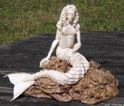 神レベルの素敵な折り紙-人魚