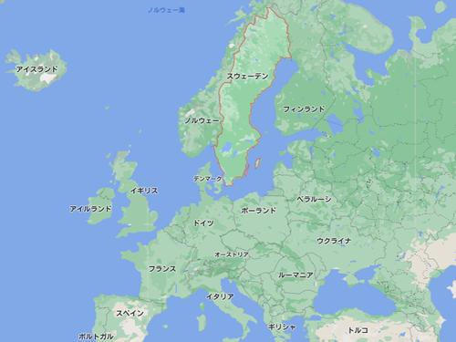 スウェーデンの島