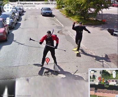 ノルウェー人のGoogleストリートビュー03