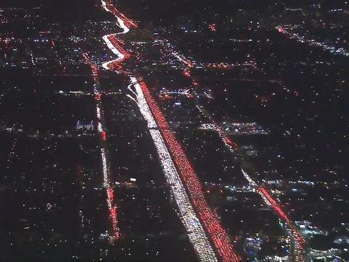 ロサンゼルスの渋滞05