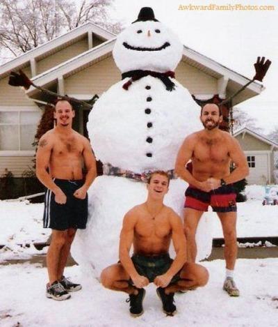 クリスマスの変な写真15