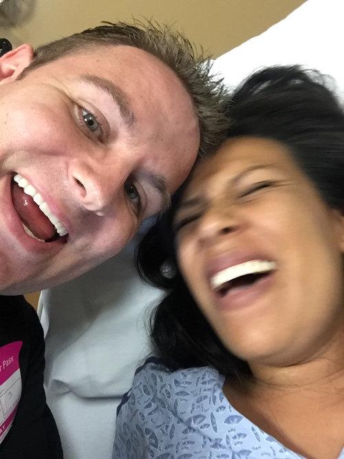 妻の出産後の写真04