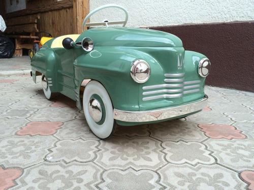 ソ連時代の子ども用のペダル車をレストア02