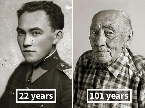 100歳越えの人の若い頃06