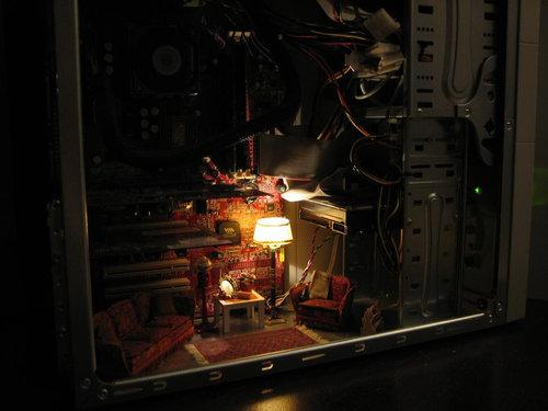 12面白インテリアグッズ PC内リビングルーム