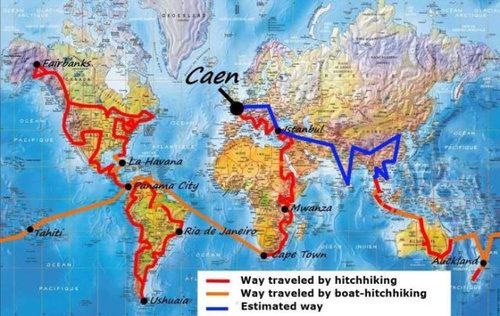 ヒッチハイクの旅16