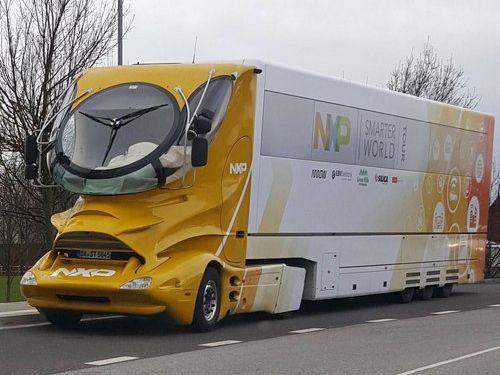 スウェーデンで変わったトラック02