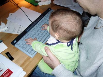 赤ん坊とコンピュータ