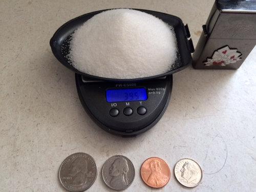 39gの砂糖が実際どんな量なのか調べてみた02