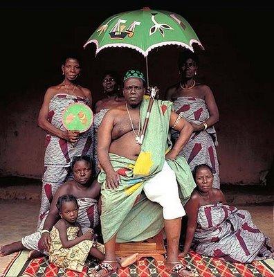 アフリカの部族の王や族長たち10