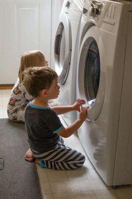 新しい洗濯機と乾燥機を買った01