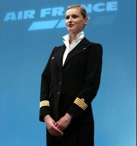 スチュワーデス・美人ランキング-エールフランス航空(Air France)