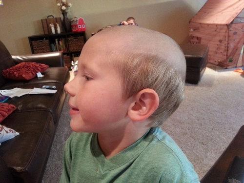 子供に「おじさん風」のヘアスタイル02