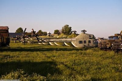 ウクライナの廃棄兵器06