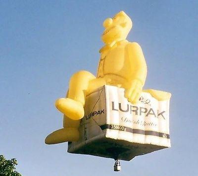 奇抜なデザインをした世界のおもしろ気球11