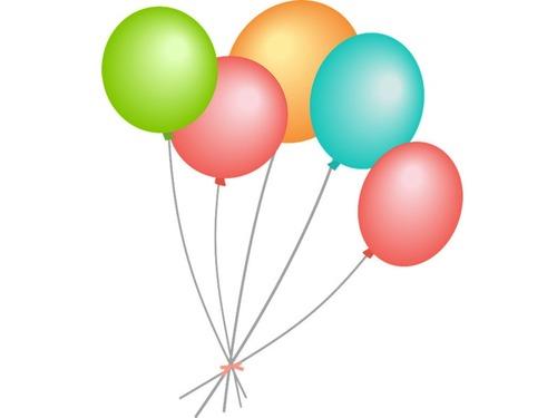 娘「誕生日は風船と目覚めたいの…」