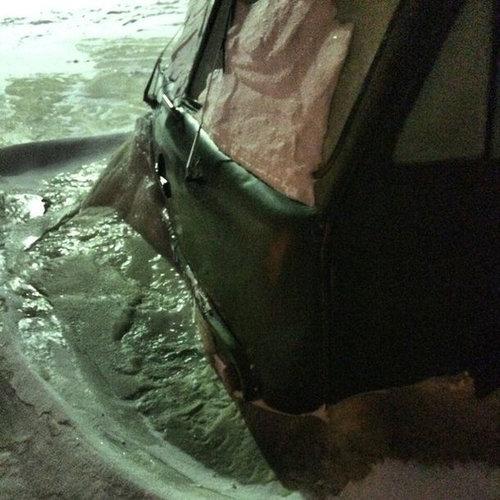 ロシアで水道管が破裂04
