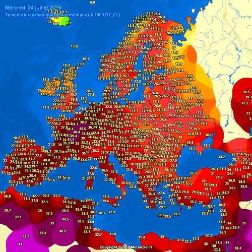 ヨーロッパ全土が猛暑01