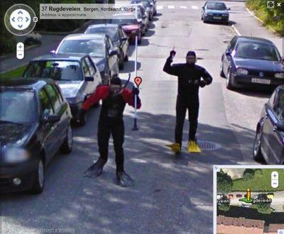 ノルウェー人のGoogleストリートビュー06