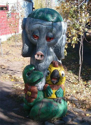 ロシアの遊具08