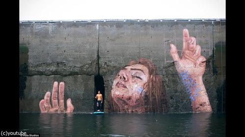 海岸の壁画の描き方05