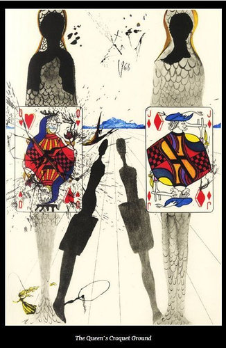 ダリが描いた不思議の国のアリス09