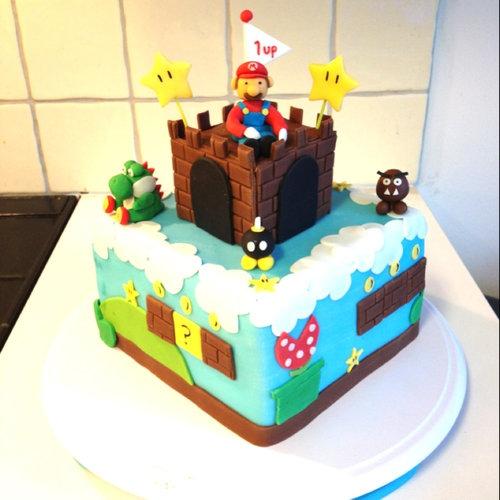 09おもしろいキャラクターケーキ