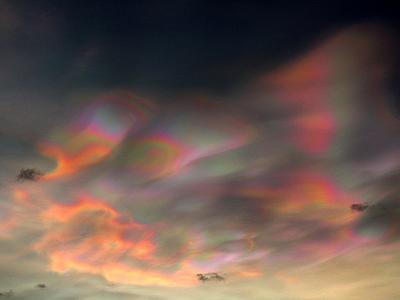 天地創造か終末のような空模様19