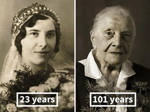 100歳越えの人の若い頃01