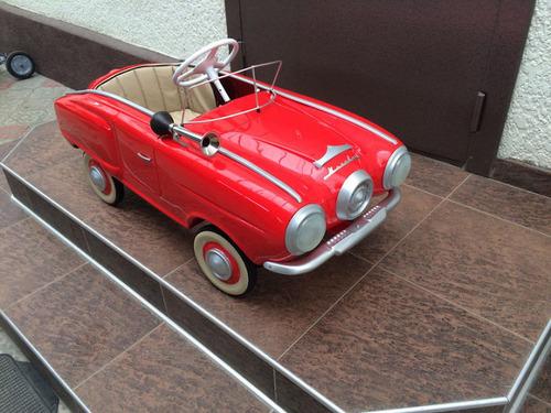 ソ連時代の子ども用のペダル車をレストア04
