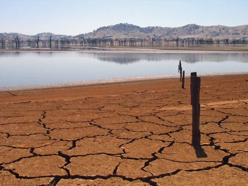 干ばつの続くカリフォルニアにようやく雨が降った00