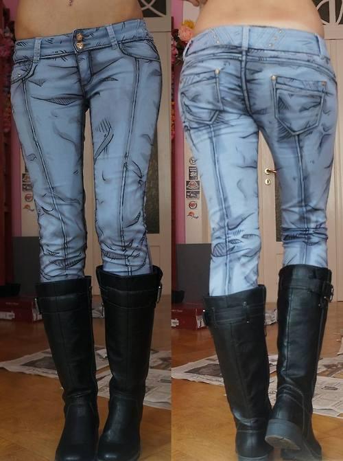 アニメ風のジーンズ01