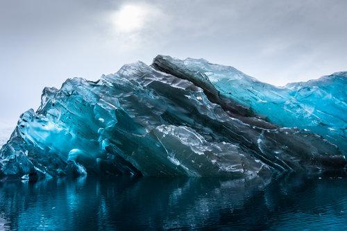氷山が逆さ02